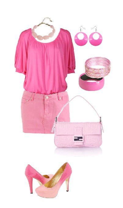"When ""Pretty in Pink"" Becomes ""Pink Overload""   style lesson"