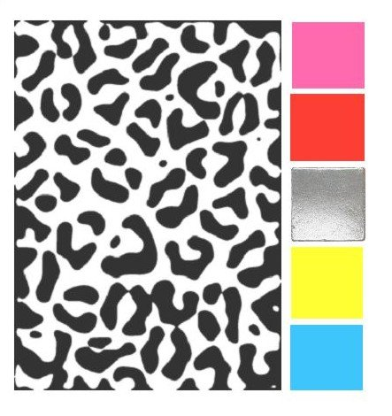 How Would You Match Black & White Leopard Print?   trendy games