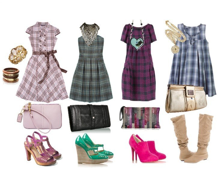 How to Wear Plaid Dresses: Tips & Ideas   style lesson