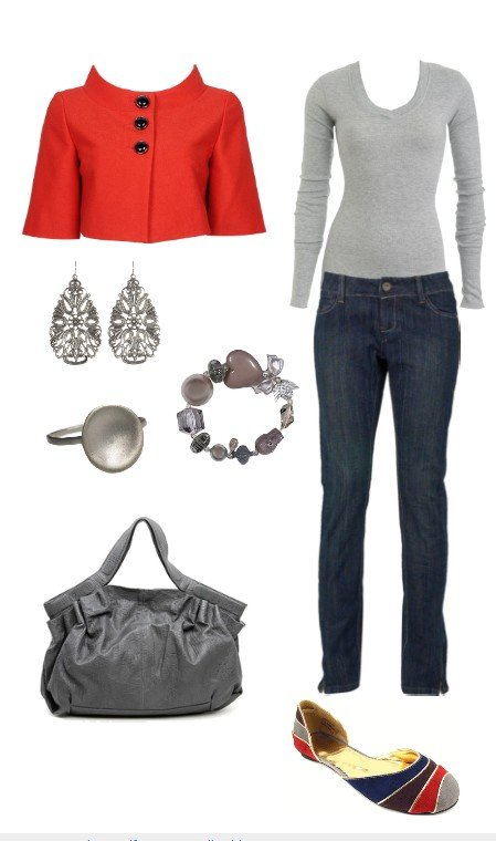 3 Ways to Wear a Little Red Jacket: Formal, Casual and In Between 3
