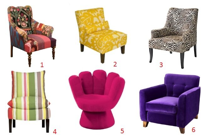 Trend Alert: Eclectic Chair Time!   decor trends