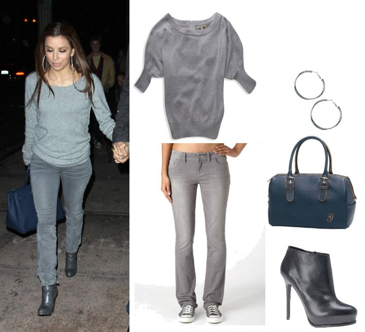 Get Her Style: Eva Longoria's Look for Less Than $200!
