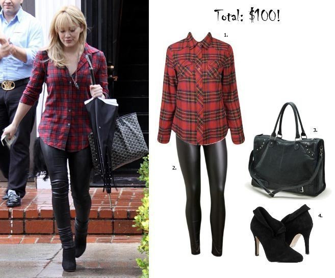 Get Her Style: Hilary Duff's Outfit for $100!