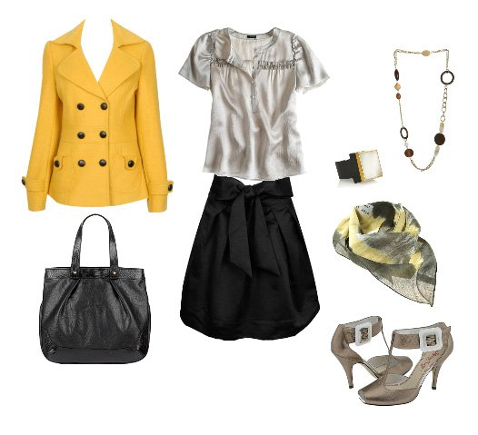 Inspiration Files: Yellow Coats   style lesson fashion trends