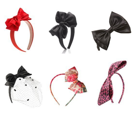 Shopping Time: Bow Headbands Under $10!   beauty trends