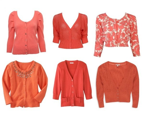 Shopping Time: Coral Cardigans and How to Wear Them 2
