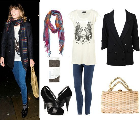 Get Her Style: Alexa Chungs 7 Piece Outfit for Less Than $170!   celebrity trends