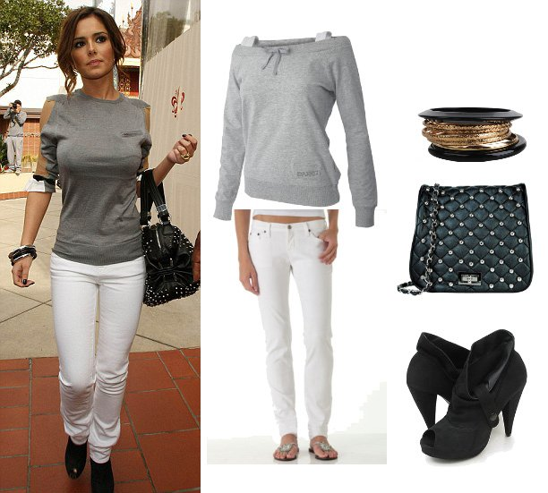 Get Her Style: Cheryl Coles Look for Less Than $150!   celebrity trends