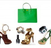 how to match a green bag