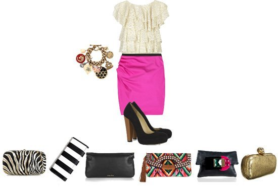 This Outfit Needs a Clutch!  1