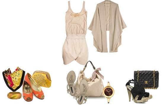 Accessorize a Nude Outfit!   trendy games