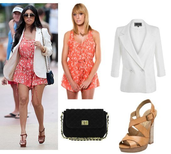 Get Her Style: Kourtney Kardashians Look for $300!   celebrity trends
