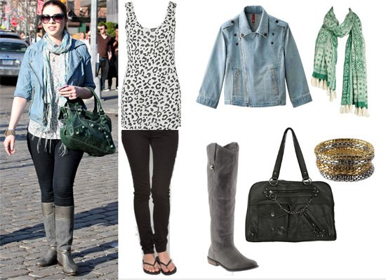 Get Her Style: Michelle Trachtenberg's 7-Piece Outfit for Less Than $260 1