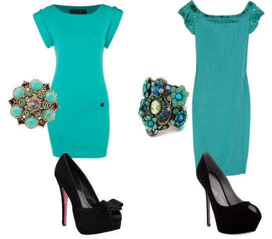 Turquoise Dress & Peep Toes   Low Budget VS Mega Budget   fashion trends