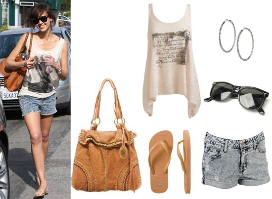Get Her Style: Jessica Alba's 6-Piece Look for Less Than $125! 1