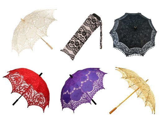 Shopping Time: Lace Umbrellas   beauty trends