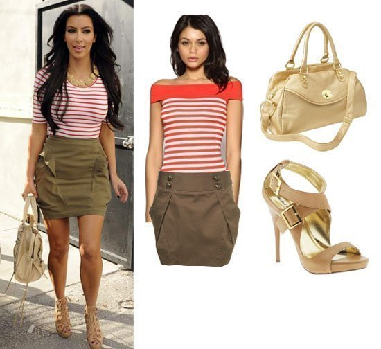 Get Her Style: Kim Kardashians Look for Less Than $150!   celebrity trends