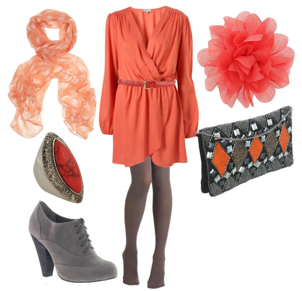 Daily Outfit: 8 Piece Coral Coal for $170   fashion trends daily outfits