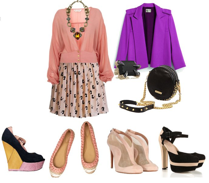 Complete This Look – Pick the Right Pair of Shoes! 1