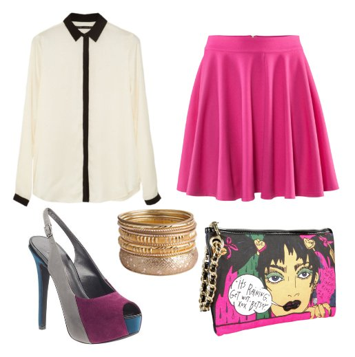 Daily Look: Funky Hot Pink Outfit for Less Than $150 1