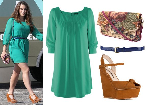 Get Her Style: Jessica Lowndes Outfit for $93   celebrity trends