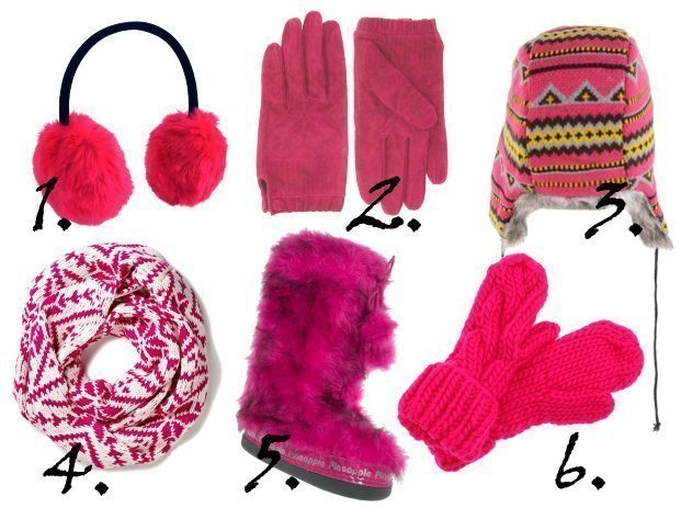Pink Fun in the Snow   Warm Finds Under $40   trend alert fashion trends