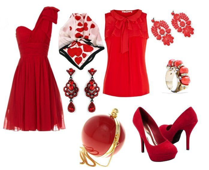 Red Picks Under $50 for Your Valentines Day Outfit   shopping time on a budget