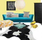 turquoise works with yellow