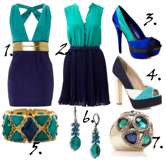 Trend Alert: Blue on Blue Picks Under $100   trend alert shopping time on a budget fashion trends color collections