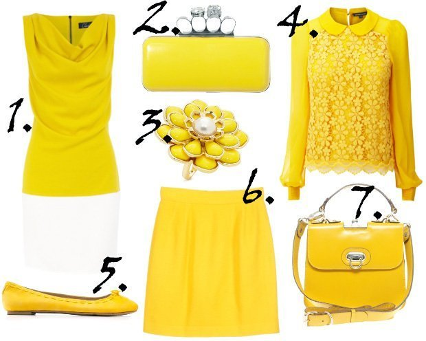 Runway Trends for Spring 2012: Canary Yellow 2