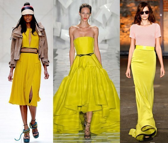 Runway Trends for Spring 2012: Canary Yellow 1