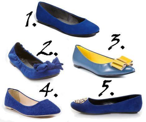 Shopping on a Budget: Cobalt Blue Flats Under $50   shopping time on a budget fashion trends