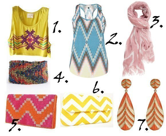 Zig Zag It Up! Colorful Chevron Picks From $10 to $43