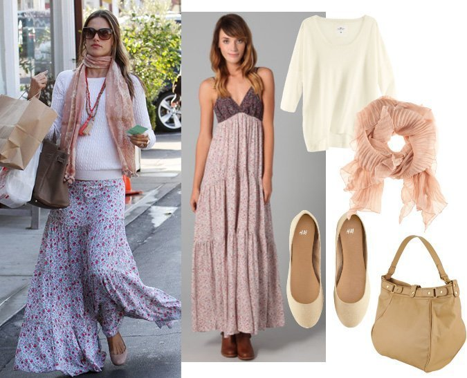Get Her Style: Dress Like Alessandra Ambrosio for $133   celebrity trends