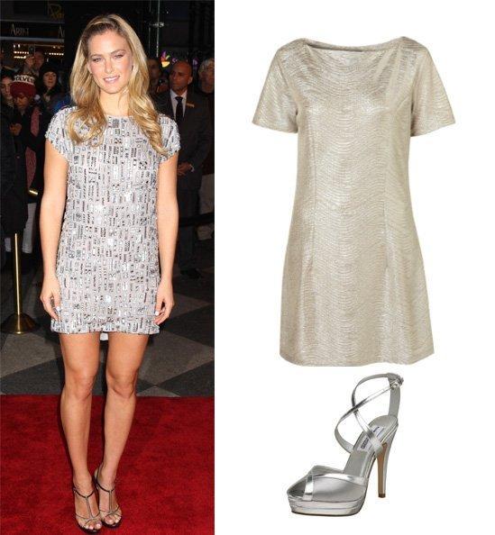 Get Her Style: Bar Refaeli's Silver Look Under $150 1