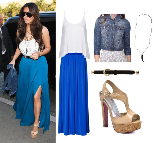 Get Her Style: Dress Like Kim Kardashian for $211   celebrity trends