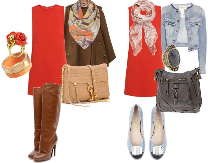 What To Wear With Orange Dress