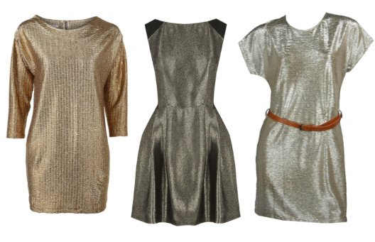 Shopping on a Budget: Metallic Dresses Under $50   trend alert shopping time on a budget fashion trends