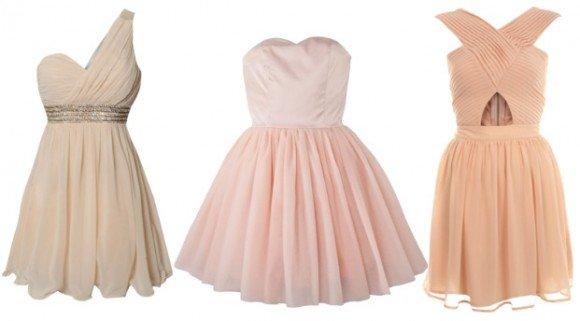 pink blush prom dresses under $100