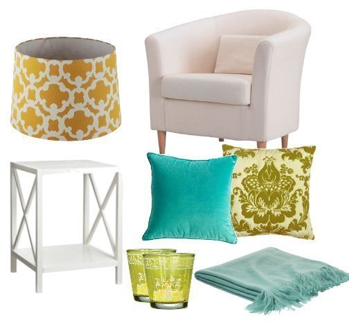 Quiet Moments: Reading Corner for $300   decor trends