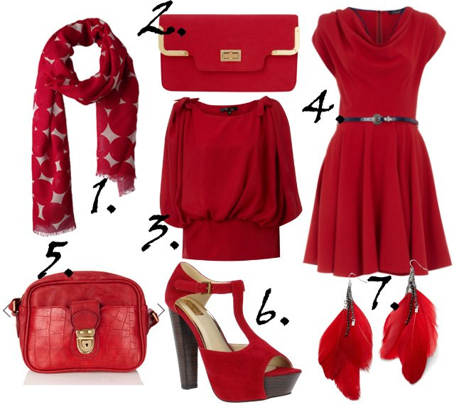 Cheapest Finds of the Week: Intense Red Vibes Under $30   shopping time on a budget fashion trends