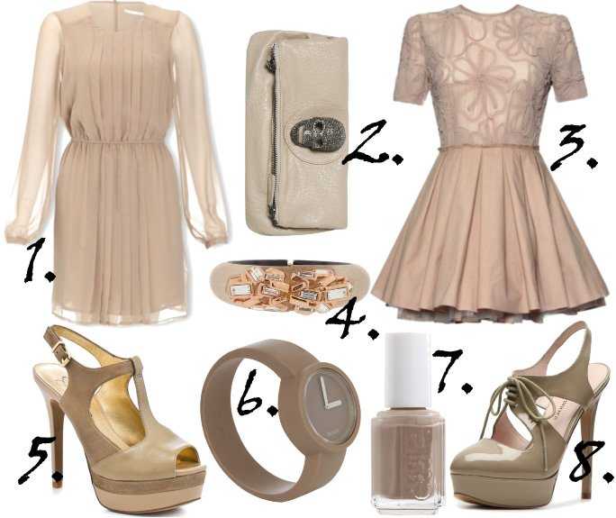 Color of the Week: Taupe   8 Fabulous Neutral Picks   shopping time on a budget fashion trends color collections