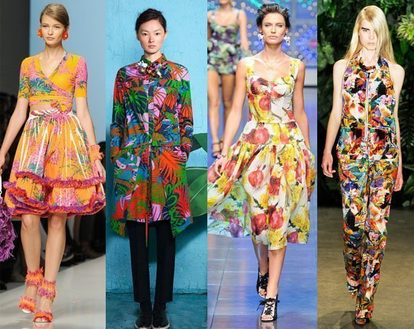 Runway Trends 2012: Tropical Cocktails + 6 Picks Under $115   runway trends fashion trends