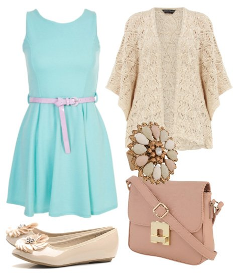 Daily Outfit: Aqua Dreams for $133!   fashion trends daily outfits
