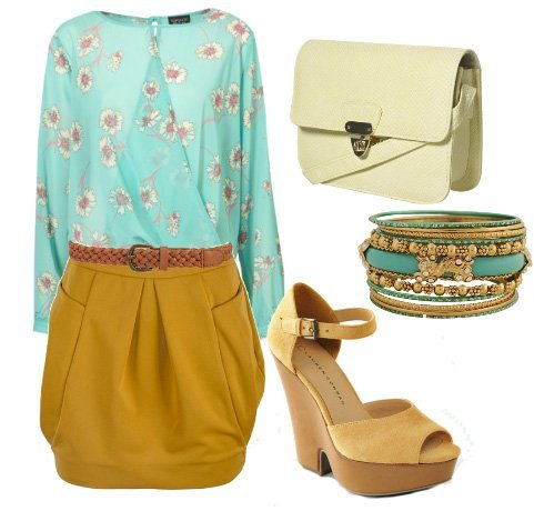 Mustard Blues   6 Piece Stylishness Under $200   fashion trends daily outfits