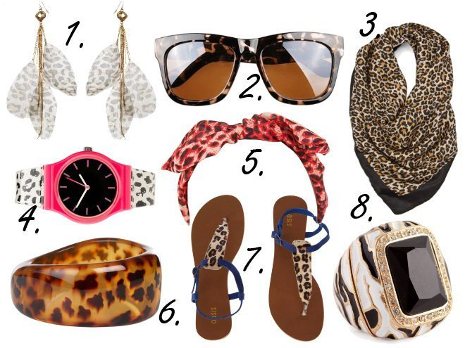 Animal Print Overload: Leopardy Accessories Under $50!   trend alert shopping time on a budget fashion trends