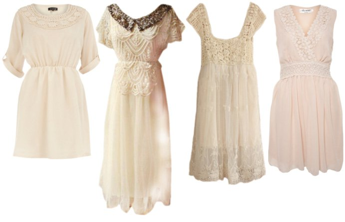 Vintage Like Flavors: Crochet Dresses Under $50   trend alert shopping time on a budget fashion trends