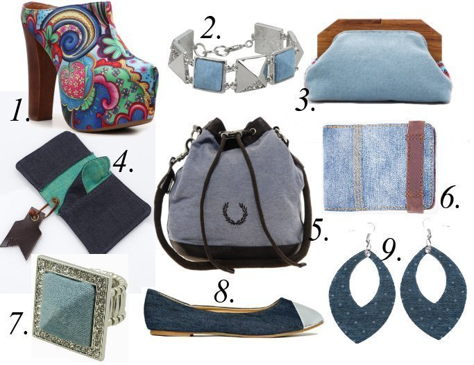 Trend Alert: Denim Accessories! 9 Finds Under $100   trend alert fashion trends
