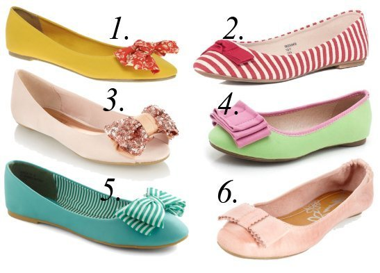 Summer Essentials: Colorful Bow Flats Under $35   shopping time on a budget fashion trends