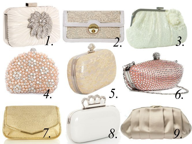Precious Little Finds: Bridal Clutches Under $60!   shopping time on a budget fashion trends